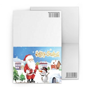 promotional printing 3d lenticular greeting card