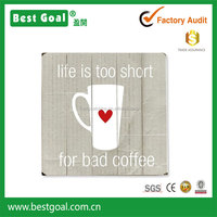 Artehouse Life is Too Short for Bad Coffee Wall Art