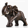 Luxury Resin Elephant Statues With Brone