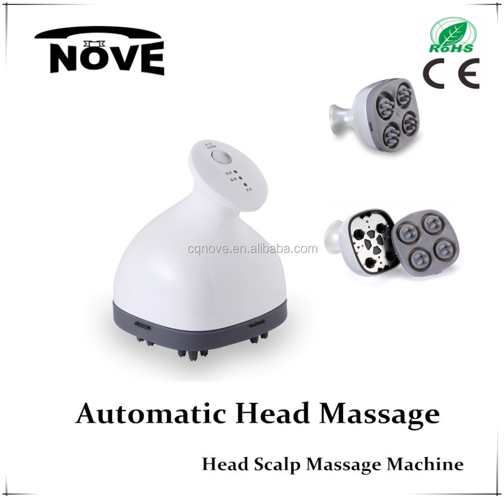 Head Massager Promote Blood Circulation Vibrating Electric Scalp Stimulator Head Massager