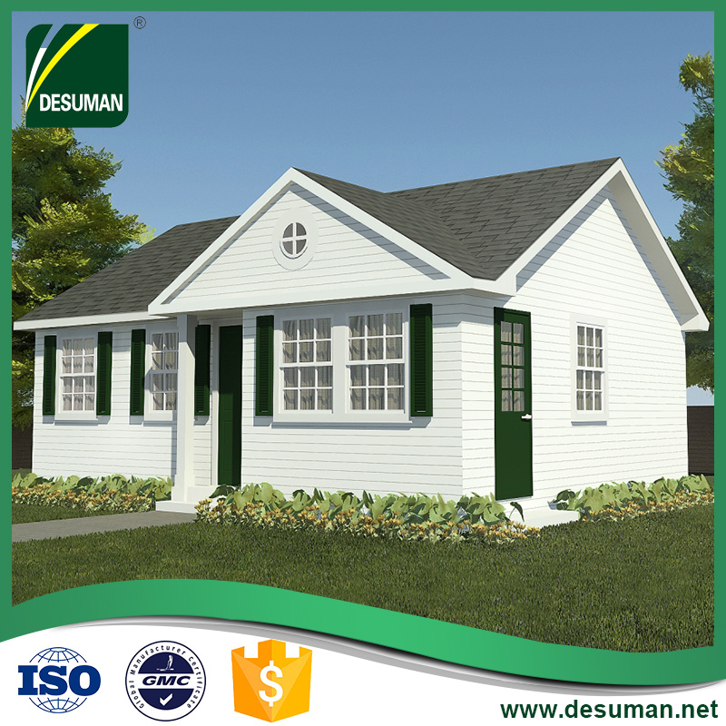 DESUMAN german luxury tropical cheap price of lebanon pvc unit fiberglass two bedroom prefabricated house