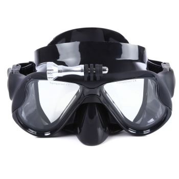 Free Shipping Anti Frog UV Silicone Professional scuba diving Mask Mask Goggles Eyewear Swimming Diving 4 Colors