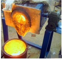 Tilting Type Furnace and New Condition 100g Gold Melting Oven 500g 1kg 2kg 4kg