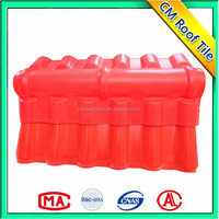 Great Load-carrying Ability Corrugated Synthetic Resin Chinese Temple Roof Tiles