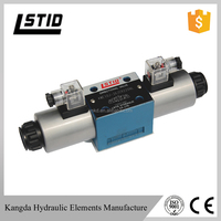 4WE10 series 2 way 220v hydraulic control oil electric operated directional control valves