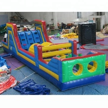 commercial inflatable playground obstacle course, portable pvc tarpaulin obstacle course manufacturer