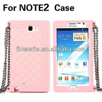 FL3353 2014 Guangzhou high quality heavy duty soft silicone case cover for samsung galaxy note 2 n7100