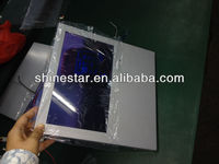 10 inch bus LCD digital advertising TV for car with back mount