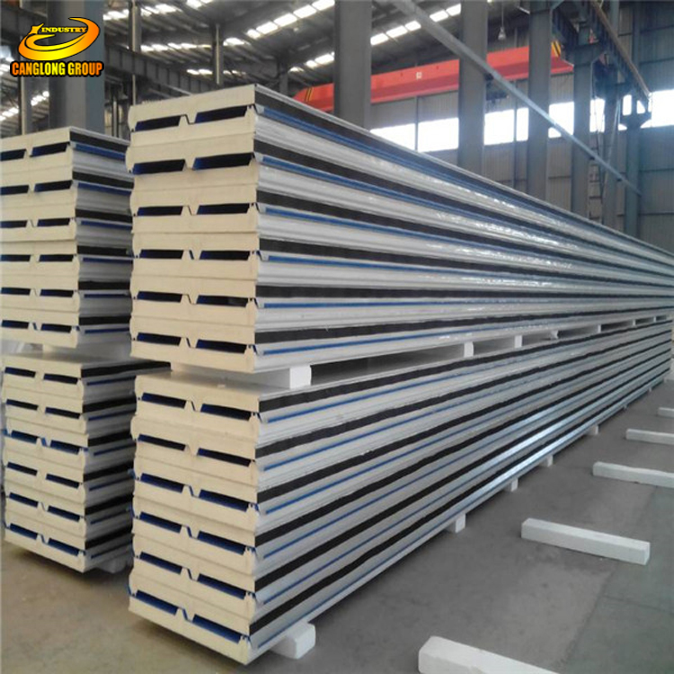 PU polyurethane wall sandwich panel cooling room for sale