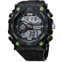 New arrival fashion design high quality PU plastic band plastic kids 3ATM waterproof digital OHSEN 2812 watches