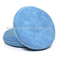 Microfiber Car Wash Sponge Wax Applicator Pad