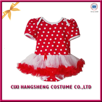 Korean fashion summer short dress kids boutique cotton girls tutu dresses