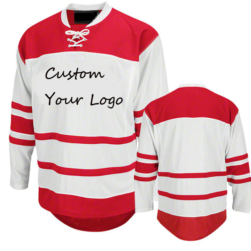 custom hockey jersey with Full Sublimated your Pattern