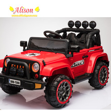 Red color 390w*2 motor high quality high technology cheap electric ride on car