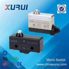 China UL&RoHS approved pin plunger type 10A/250VAC micro switch lift