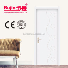 North America, Europe, Australia Standard Solid Wood Entry Door from Chinese Factory with Grille Patterns Design and Safety Lock