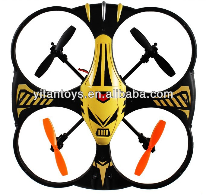 X35 Defnder UFO 2.4GHZ 4CH Plastic 4AIXS RC Flying Quadcopter RC Aircraft