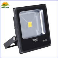 10W/20W/30W High Power LED Floodlights - Black Case, Slimline with or without PIR Sensor