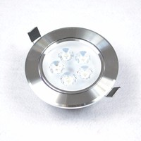 3W LED Down Light Ceiling Recessed Lamp White Light with LED Driver led lights drop for home