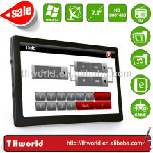 2014 hot sale car multimedia navigation system 7 inch screen 8GB ONLY $37.00/PC