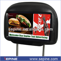 9 inch tft lcd monitor back seat tv for car/taxi/bus