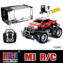 New product 2.4G 1:8 Scale large 4WD Proportional Desert brushless rc truck Car