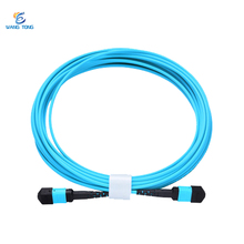 OEM factory high quality Low Loss Outdoor 3 Meter OM3 24 Core MPO Fiber Optic Patch Cord