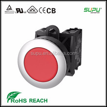 Supu Receeeed Mental FrontRing Rainroof Flush Momentary Push Button Switches