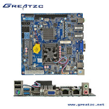 ZC-S1037ADL Newest Ivy Bridge MINI ITX Motherboard 1037U HM77 Dual Lan Mainboard SATA 3.0 Computer Board