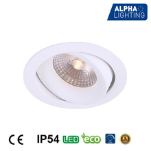 20 degree in vertical adjustable round shape decorative downlight