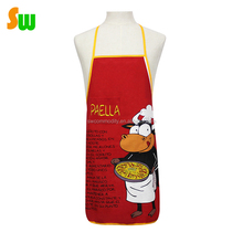 Lovely bull printing Kitchen cooking pinafore school uniform on sale
