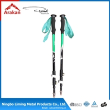 Factory directly aluminium 6061/7075 walking stick trekking poles