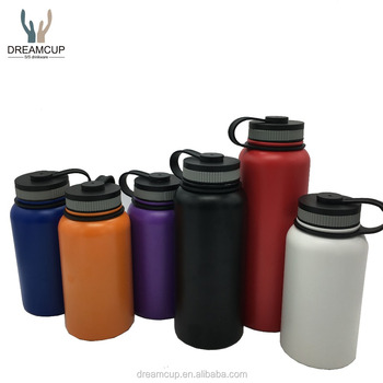 Wholesale custom logo stainless steel vacuum insulated water bottle
