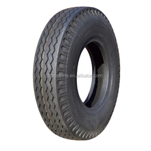 light truck bias tyre rib pattern 650-16 truck tyre and bus tyre nylon tyre made China tyre
