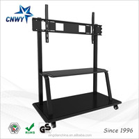 school education universal led tv stand design for 110 inch touch screen