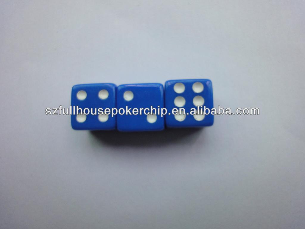 Acrylic Dice In Sports Entertainment Poker