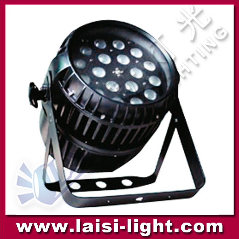 Outdoor led par 64 18pcs 5in1 Waterproof Led Par/ RGBWA LED Par Light IP65