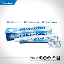 Free samples guangzhou private label oem dentist pure white gel toothpaste manufacturers