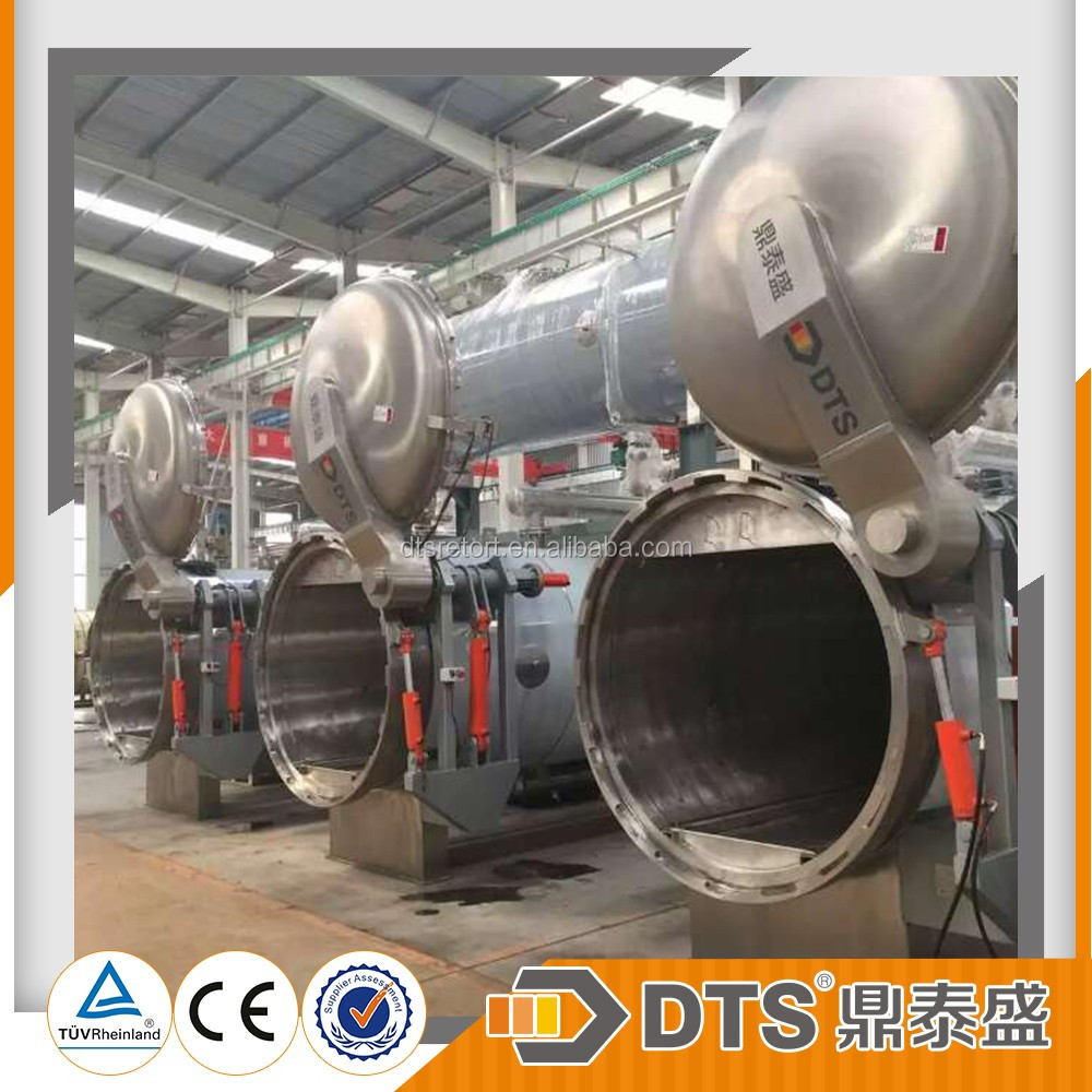 static horizontal spray autoclave for food and beverage/retort for canned food processing