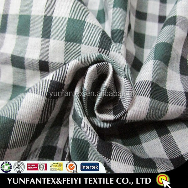2016 popular plaid fabric for school uniforms 100% <strong>cotton</strong> woven fabrics