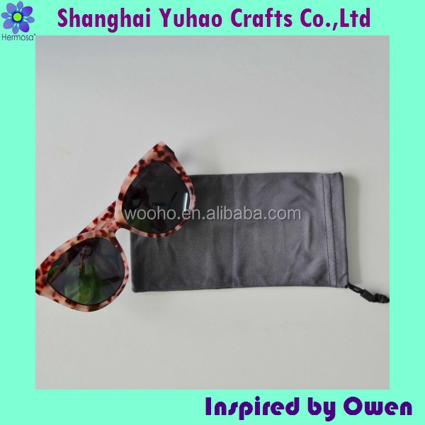 Microfiber drawstring tablet pc & mobile phone pouch bag Manufacturer supply