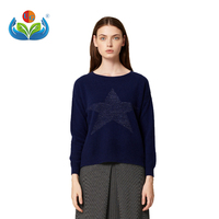 Fashionable stretch knitwear autumn new cashmere women's sweater shows thin woman dress