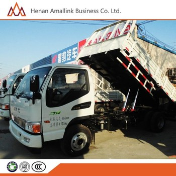 HONGDA TRUCK 95hp 4x2 6 wheel dump truck for sale in middle east