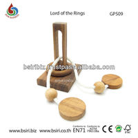 Wooden puzzles brain teasers Lord of the Rings