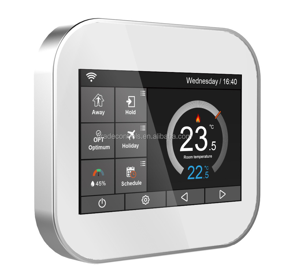 Digital On Wall WiFi Room Thermostat