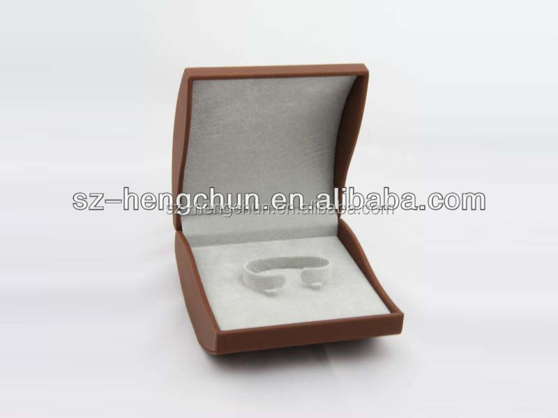 plastic mould oval shape watch packaging box