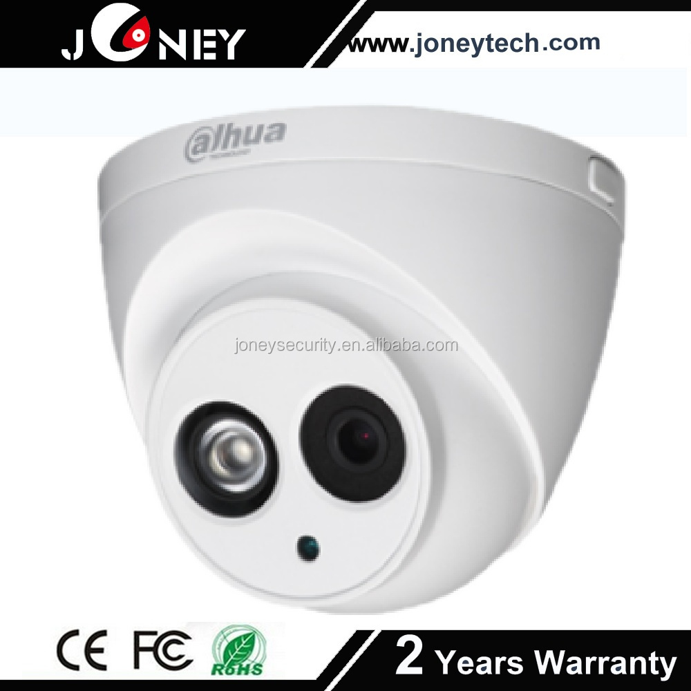 dahua 4mp dome ip camera IR range more than 50m with 2.8mm fixed lens (3.6mm,6mm optional) dahua cctv camrea
