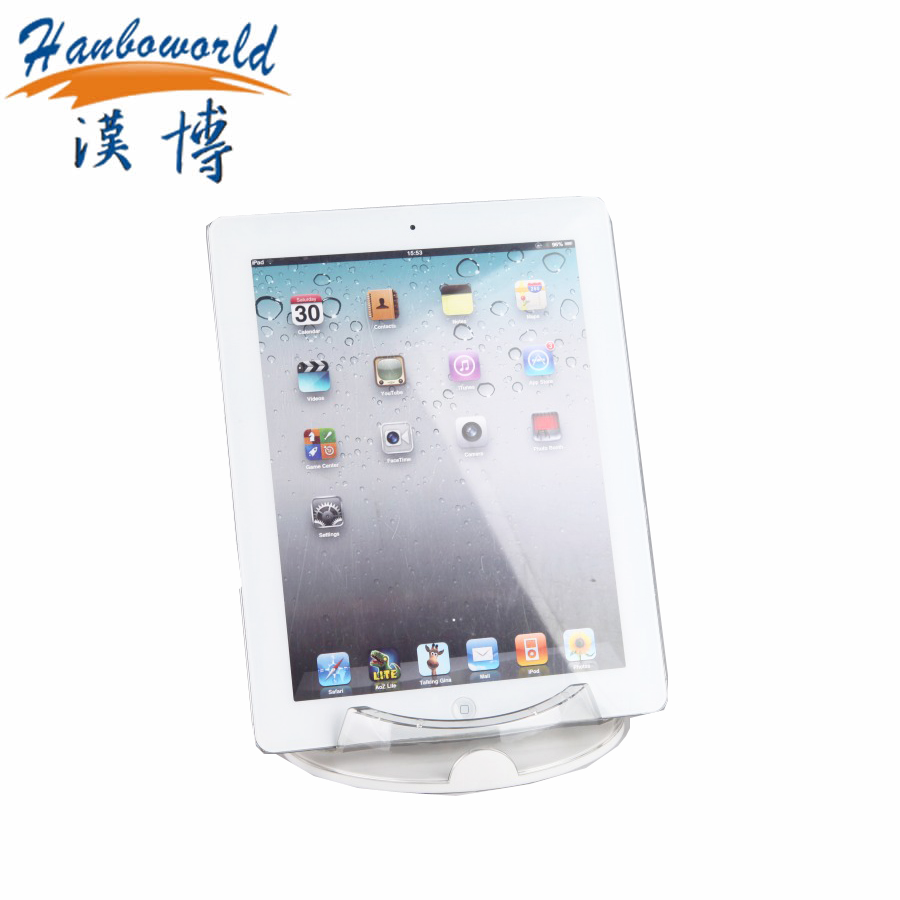 China supplier acrylic tablet stand, desktop holder for ipad display