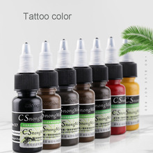 Factory wholesale 15ml Permanent makeup ink tattoo pigment