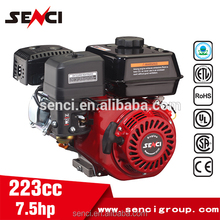 Top Quality Portable 8HP OHV Vertical Shaft Gasoline Engine With Electric Start